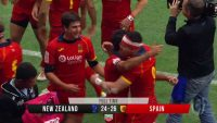Rugby: Spain beat the All Blacks for the first time in their history